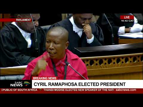 Opposition Parties Congratulate Cyril Ramaphosa As President Elect