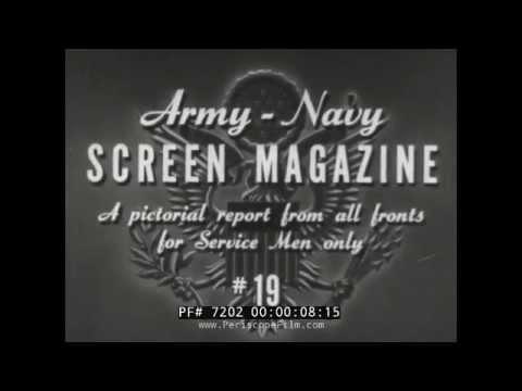 U.S. ARMY SCREEN MAGAZINE #19 ICELAND & WAR BABIES 72702