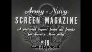 U.S. ARMY SCREEN MAGAZINE #19 ICELAND & WAR BABIES 72702
