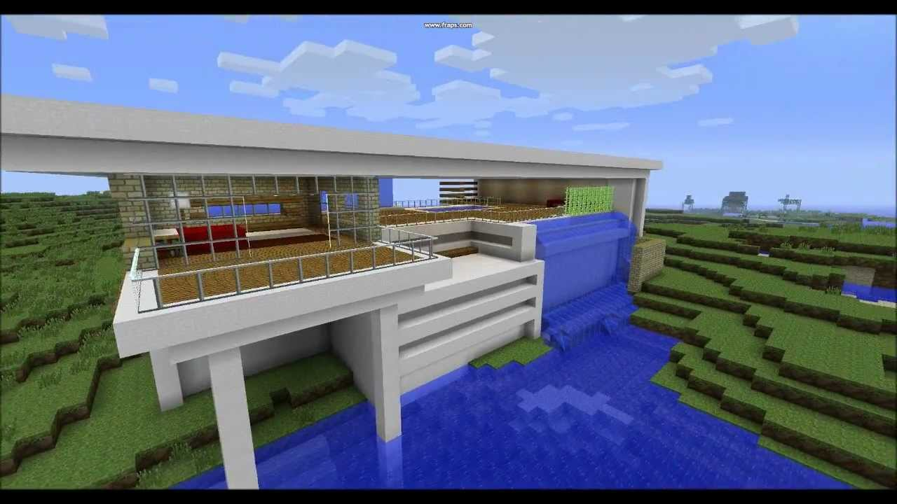 Modern Architecture House Minecraft minecraft modern architecture - youtube