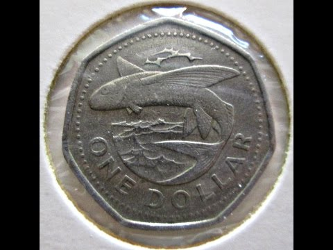 Barbados, 1 Dollar, 1988