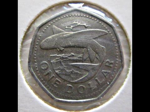 Barbados, 1 dollar, 1988