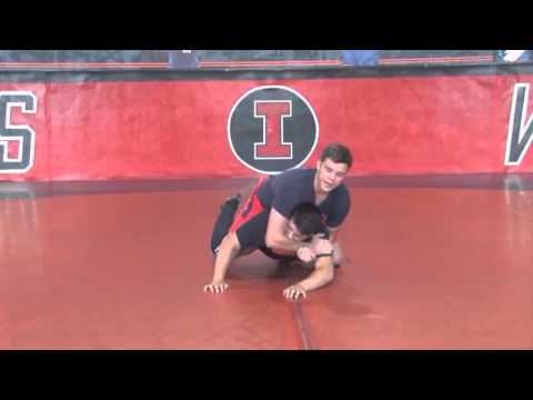 Learn Mark Perry's Leg Throwing Technique! - Wrestling 2015 #47