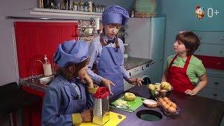 """«Приготовились» выпуск 002 : Дети готовят завтрак """"мамины"""" картофелины. (0+)"""