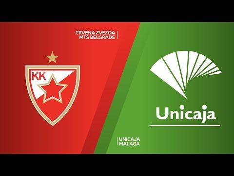 Crvena Zvezda mts Belgrade - Unicaja Malaga Highlights | 7DAYS EuroCup, T16 Round 6