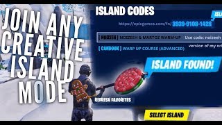 How to Join any Creative Islands on Fortnite Mobile (Island Codes)
