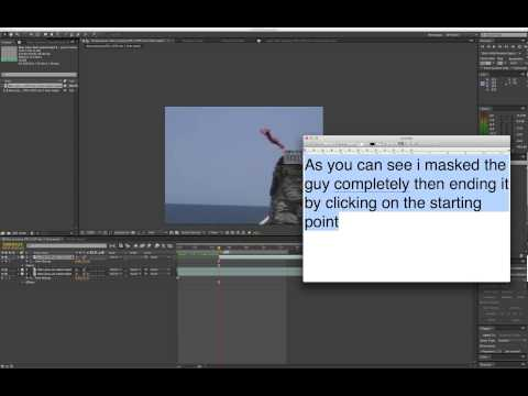 How to do Super Man flying after effect tutorial