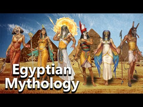 Egyptian Mythology: The Essential - Ra, Horus,Osiris, Seth, Anubis, Bastet - See U In History
