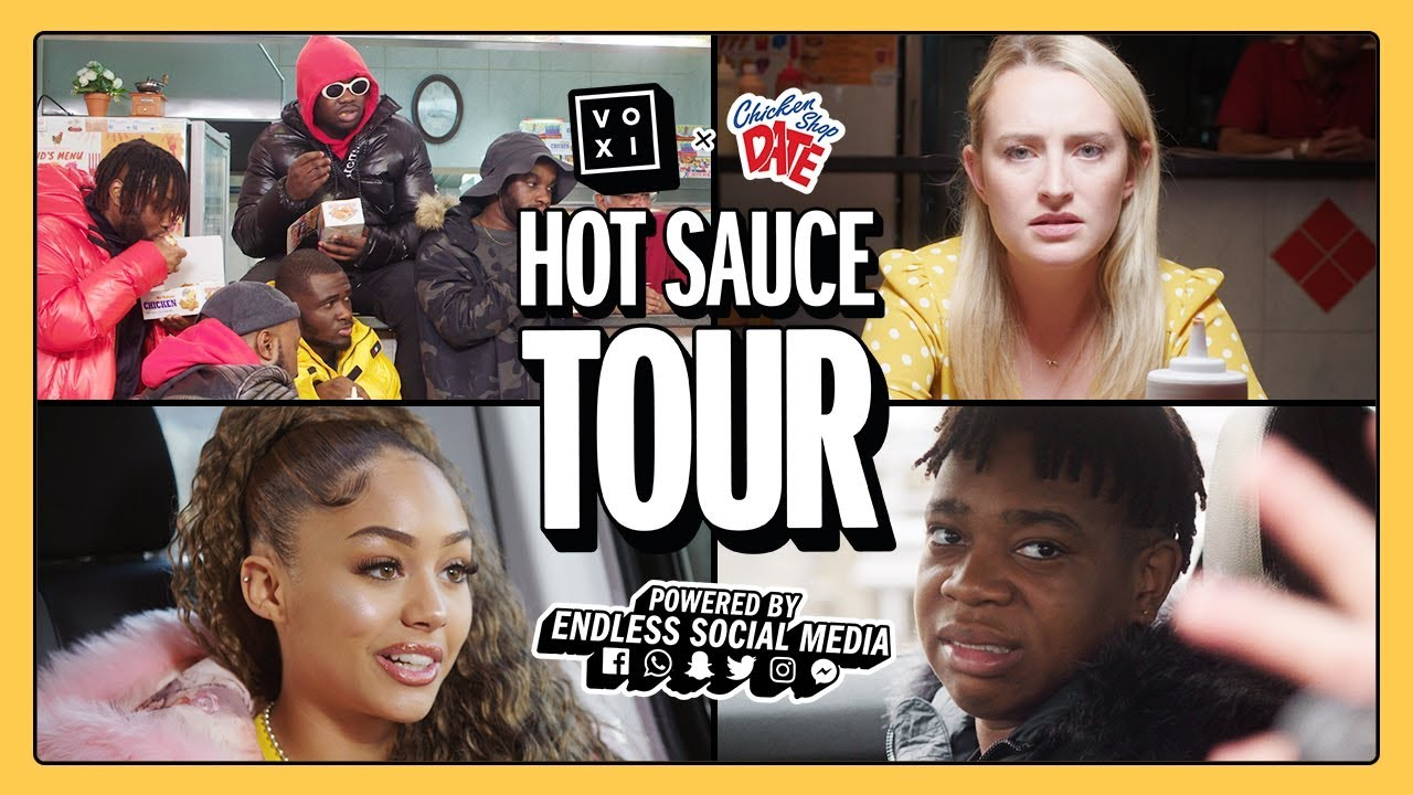 CHICKEN SHOP DATE ON TOUR EP 1 | FT. EO, AMELIA MONET + NSG | POWERED BY VOXI