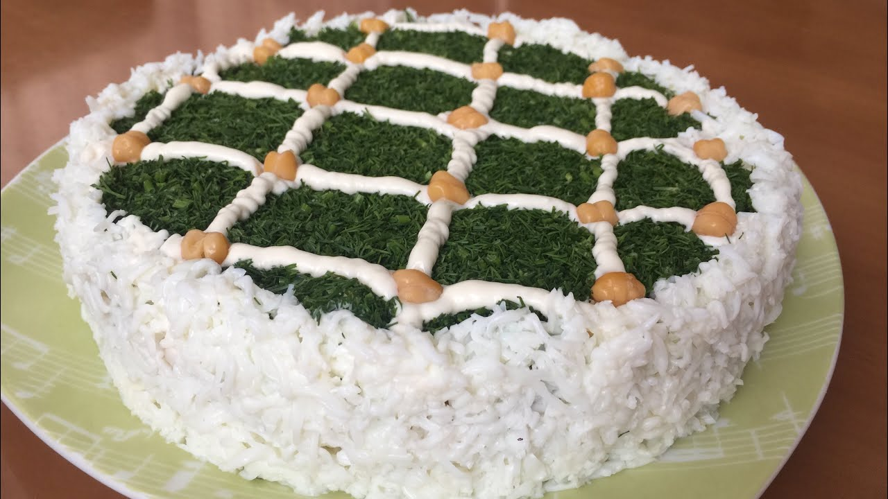 Yeni ilə Yeni salat resepti/ Новогодний салат