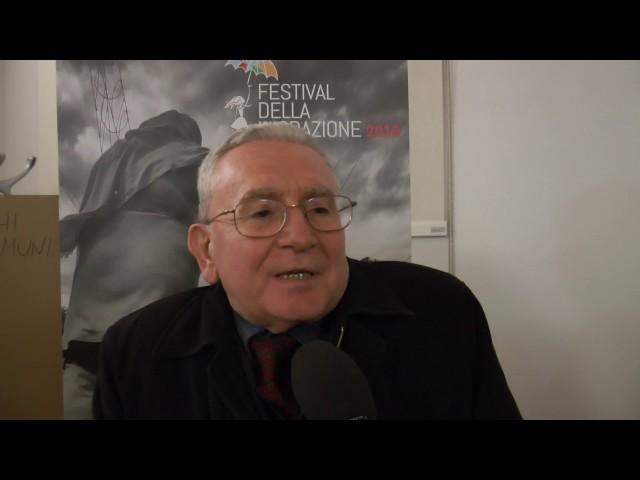 Festival della migrazione 2016 - intervista a Francesco Remotti