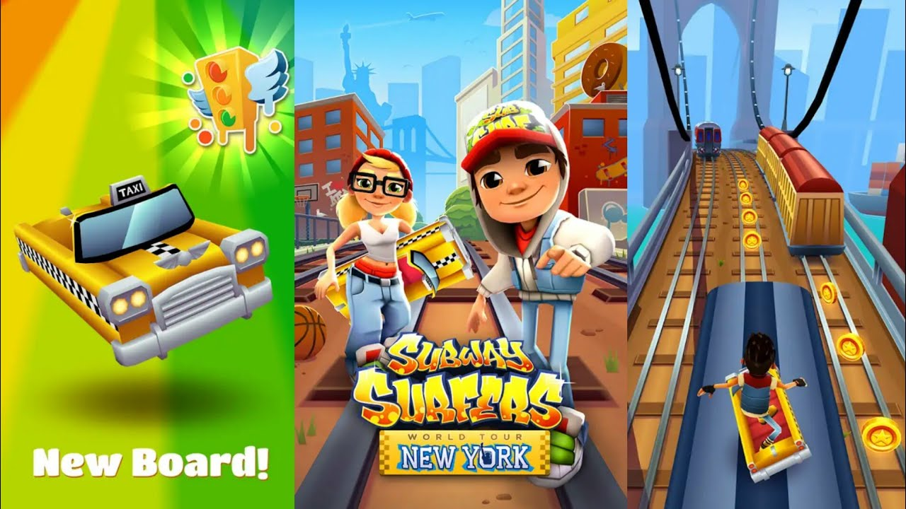Subway Surfers World Tour New York Review