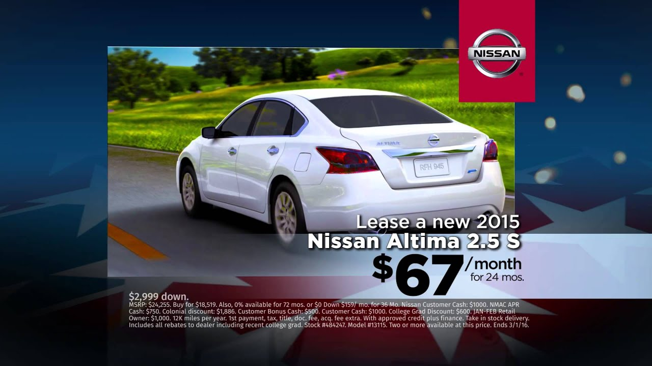 Lovely Colonial Nissan Of Medford Nissan Altima February Specials