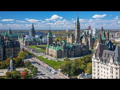 Канада 1363: Атмосфера Оттавы в обычный субботний день