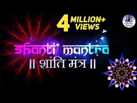 """""""Shanti Mantra"""" - Sarvesham Svastir Bhavatu - Very Peaceful Mantra - Sacred Chants"""