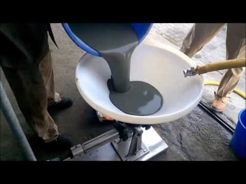 Grout Pump Small 240v - YouTube
