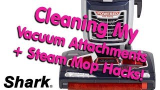 How to clean your Shark Duo Clean, + steamer hacks