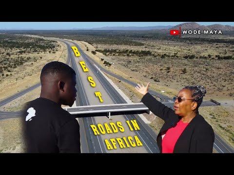 Why Namibia Roads Ranked The Best Roads In Africa?