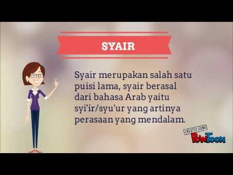 Pantun Dan Syair Powtoon Youtube