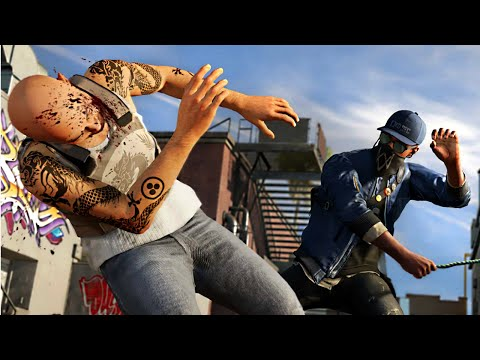 FREE-ROAM FUNNY MOMENTS! (Watch Dogs 2)