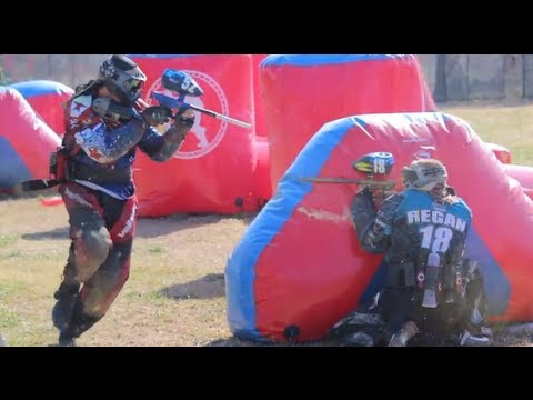 Incredible Professional and Amateur Paintball Action from Dallas PSP
