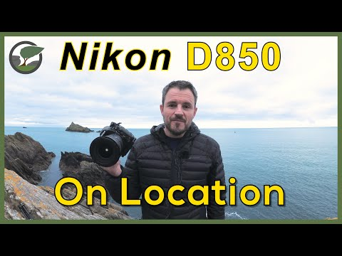 On Location with the Nikon D850: Froward Point, Devon
