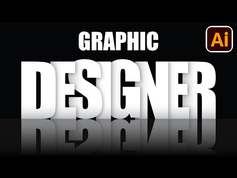3D Text Effect | Best logo design | 3D logo design | Adobe illustrator tutorials | 003 thumbnail