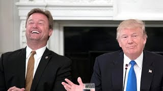 "THREATENS: President Donald Trump Threatened Dean Heller ""WANT TO REMAIN A SENATOR?"" FACE TO FACE"