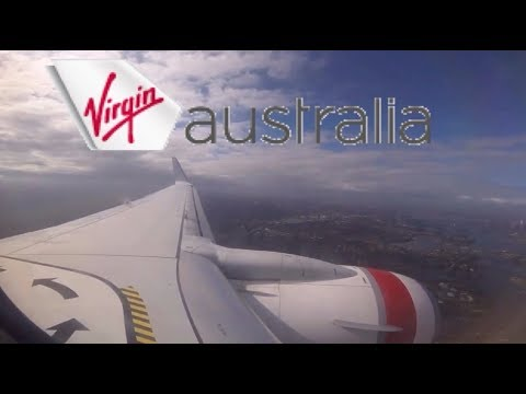Virgin Australia Landing in Sydney