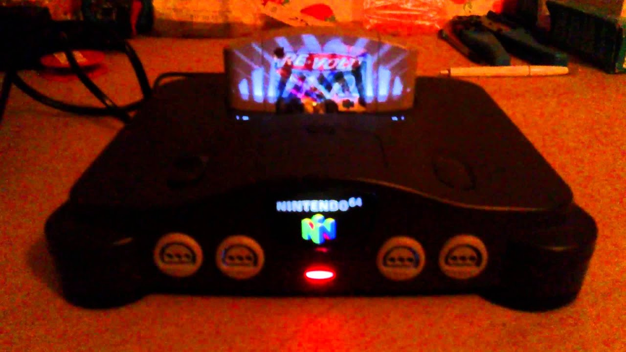 s video rca and led s huge n64 project