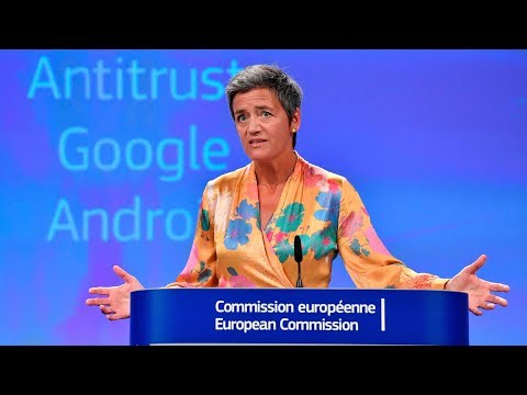 EU fines Google $5 billion for Android antitrust violations
