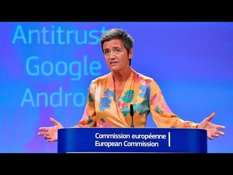 EU fines Google $5 billion for Android antitrust violations