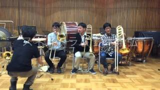 トロンボーン奏者がスネアドラム叩きつつボレロ吹いた結果