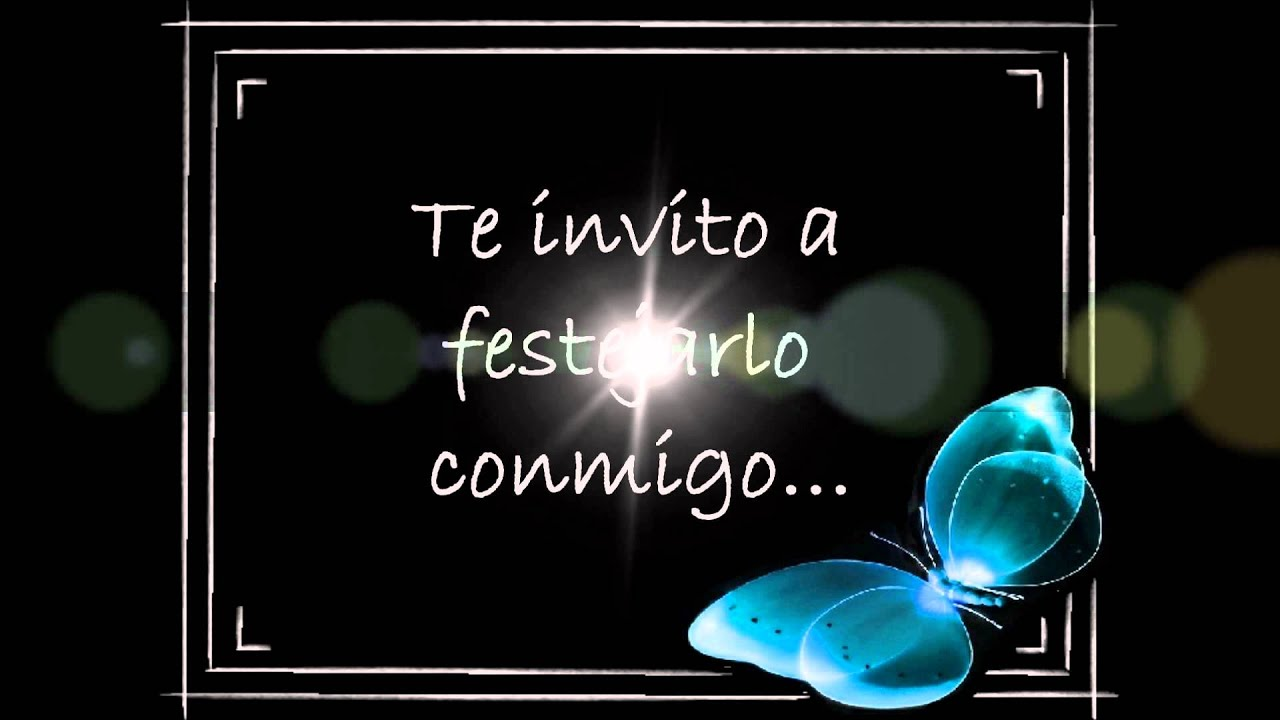 Invitacion Mis 60 Blanqui