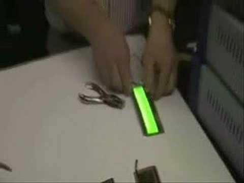 OLEDS demonstration