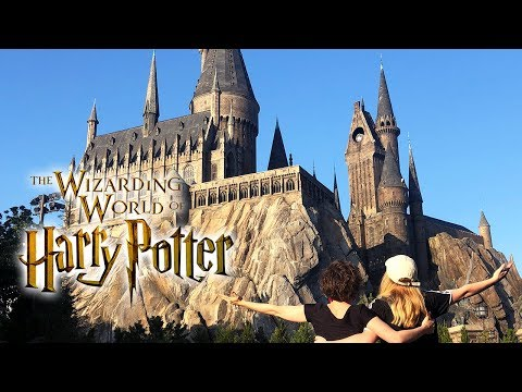 Harry Potter Things To Do In Real Life at the Wizarding World in Hogsmeade ft. TheBakeey