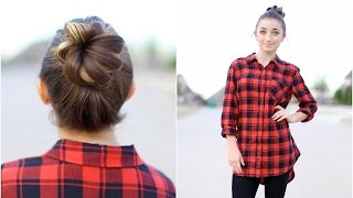 How to Create a Crown Bun | Updo Hairstyles