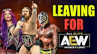 10 Current WWE Wrestlers Who Might Leave For AEW!