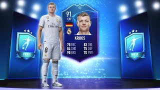 91 RATED TONI KROOS TOTGS SBC! (CHEAP!) - FIFA 19 Ultimate Team