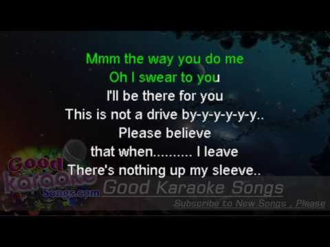 Drive By  - Train (Lyrics Karaoke) [ goodkaraokesongs.com ]