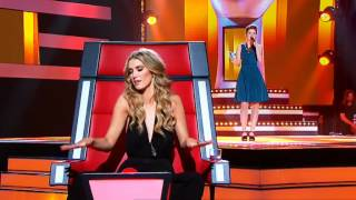 The Voice Australia: Emma-Louise Birdsall (@babybirdsall) sings Mercy