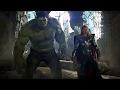 Avengers vs Chitauri Army - Hulk Punches Thor - Final Battle Scene - Movie CLIP HD