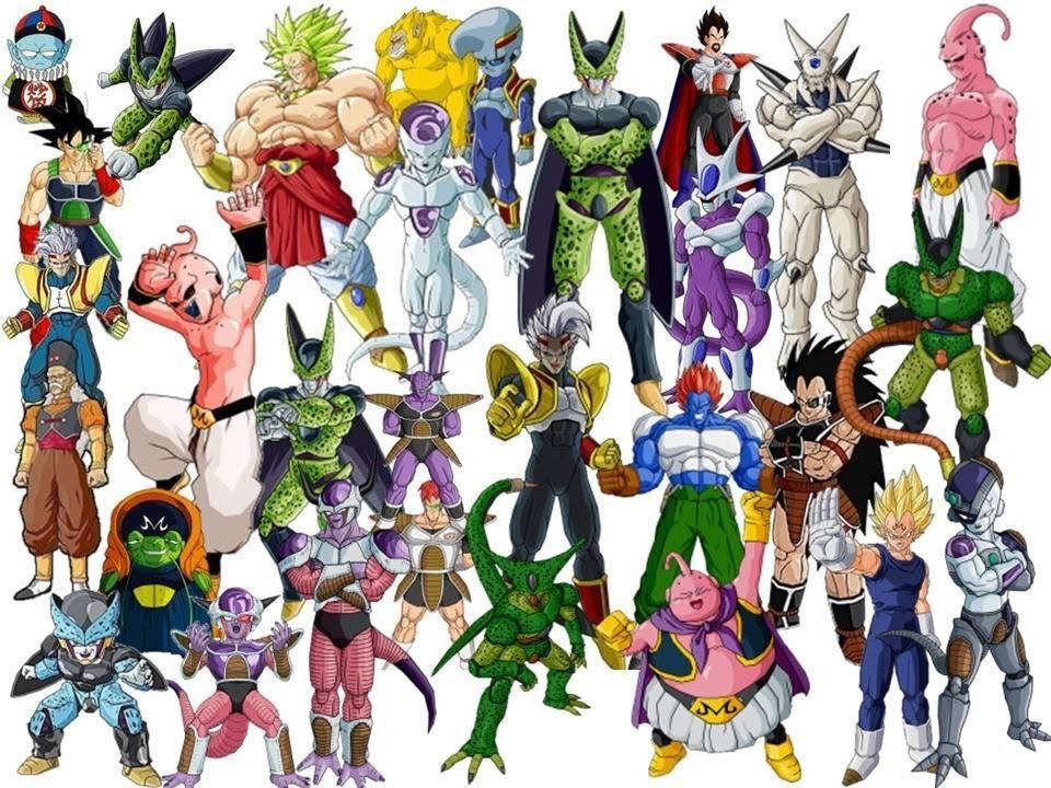 Enemigos de Dragon ball z Y Gt  YouTube