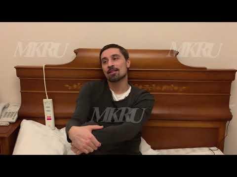 Дима Билан записал видеообращение из кровати со сломанной ногой