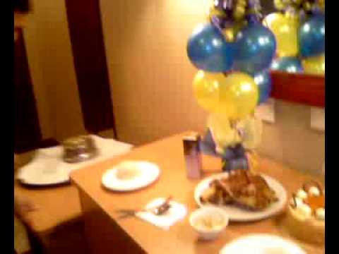 Surprise Birthday Celebration For My Husband Dinner
