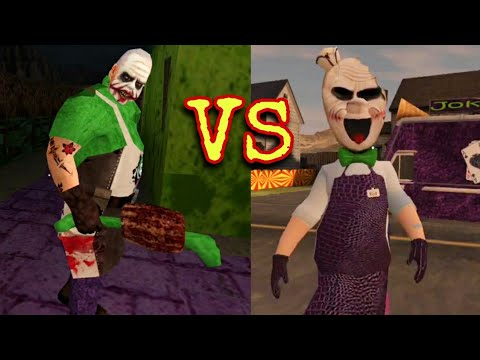 Joker Rod Vs Joker Mr. Meat | Cool Mod Battle Ice Scream 3 & Mr. Meat