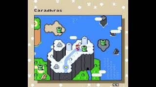[TAS] Grand Poo World 2 (SMWHack) True Ending All Exits + Luigi in 54:17
