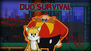 sonicexe the spirits of hell tails and eggman duo survival