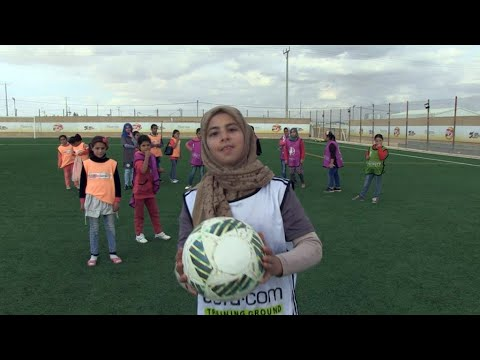 Focus - Football, a game-changer for young Syrian refugees in Jordan