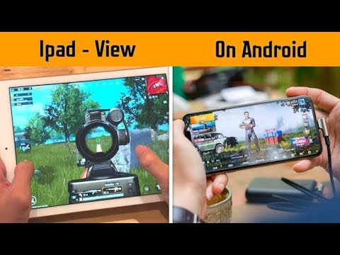 How To Get Ipad View In PUBG MOBILE | Trick To Get Ipad Resolution On Any  Android No Root - YouTube